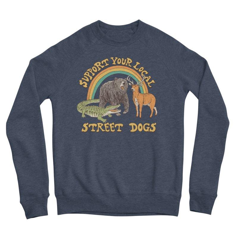 Street Dogs Men's Sponge Fleece Sweatshirt by Hillary White