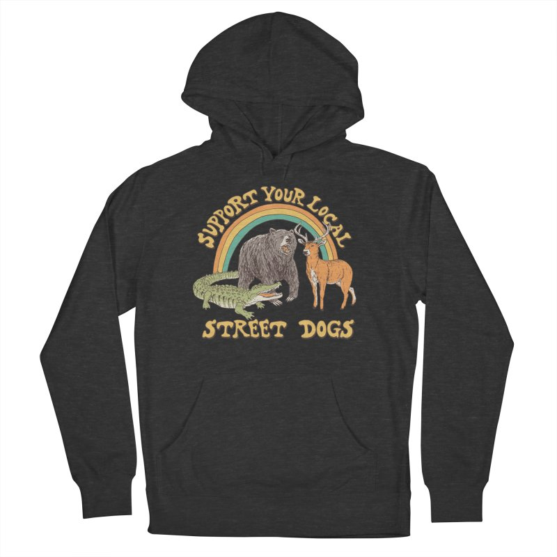 Street Dogs Men's French Terry Pullover Hoody by Hillary White