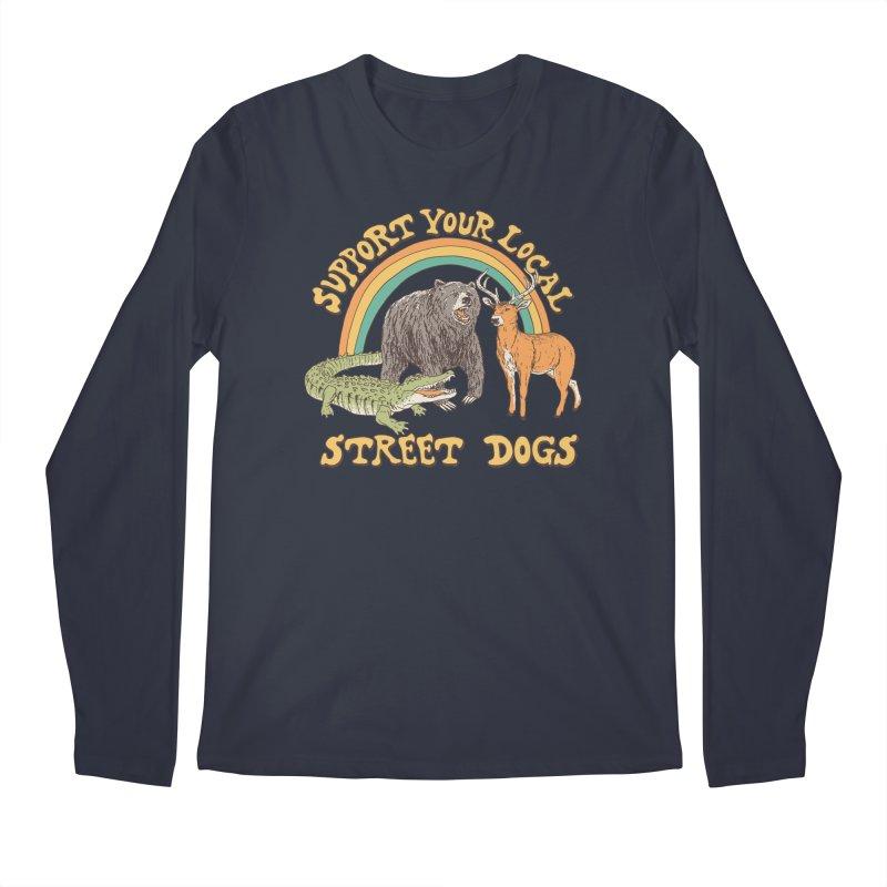 Street Dogs Men's Regular Longsleeve T-Shirt by Hillary White