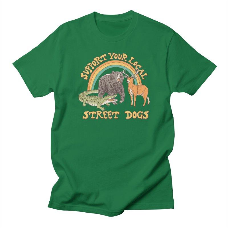 Street Dogs Men's Regular T-Shirt by Hillary White