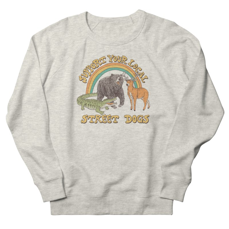Street Dogs Men's French Terry Sweatshirt by Hillary White