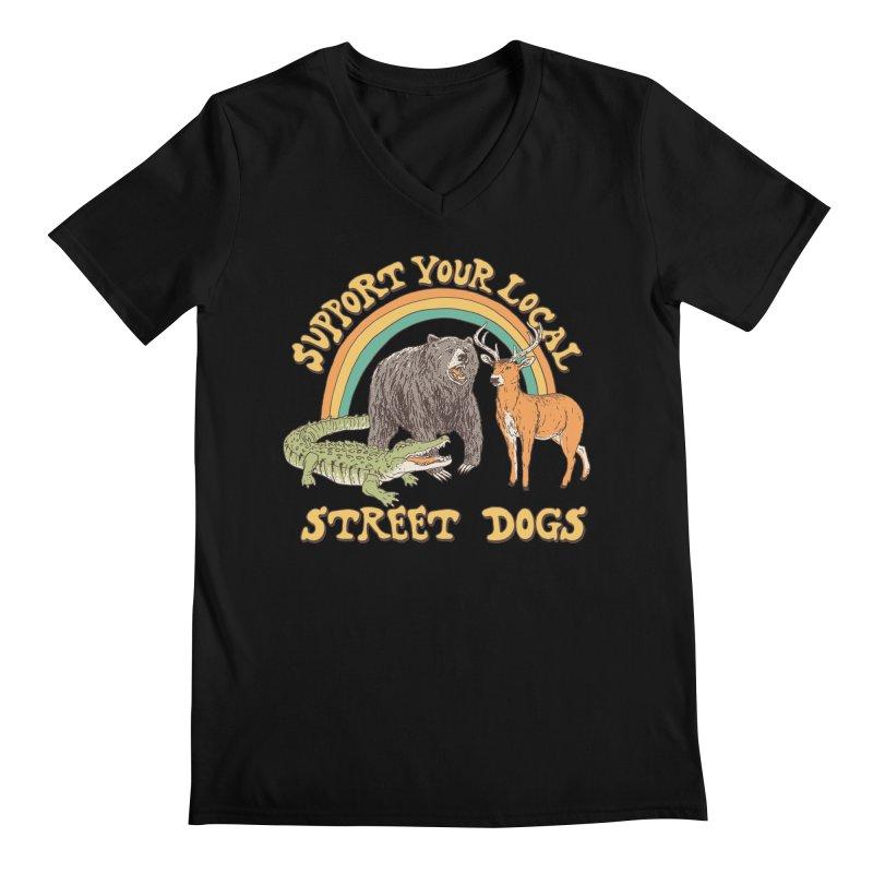 Street Dogs Men's Regular V-Neck by Hillary White