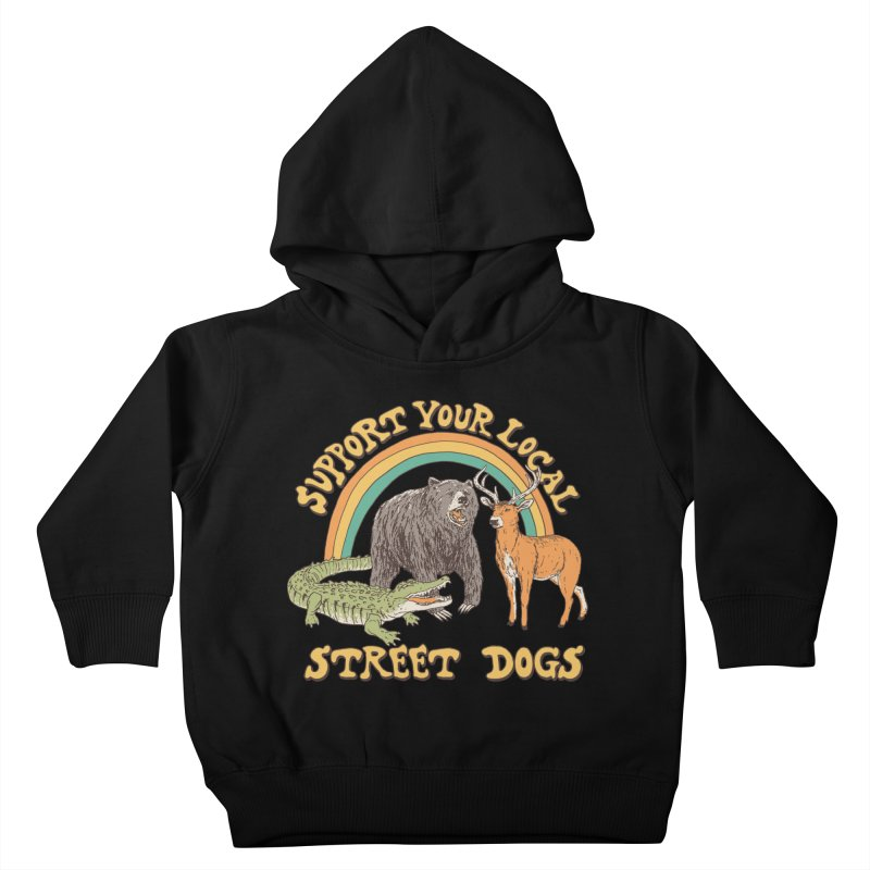 Street Dogs Kids Toddler Pullover Hoody by Hillary White