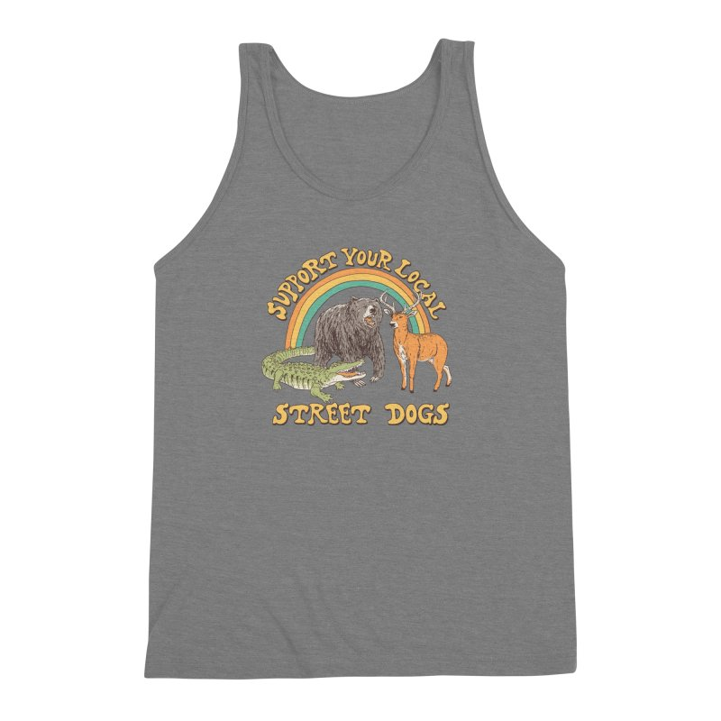 Street Dogs Men's Triblend Tank by Hillary White
