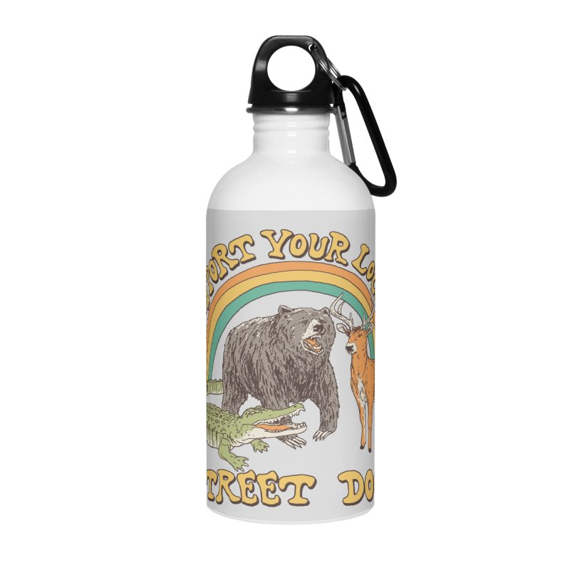 Street Dogs Accessories Water Bottle by Hillary White