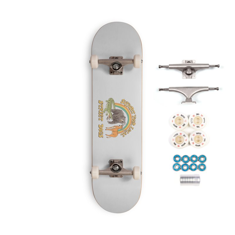 Street Dogs Accessories Complete - Premium Skateboard by Hillary White
