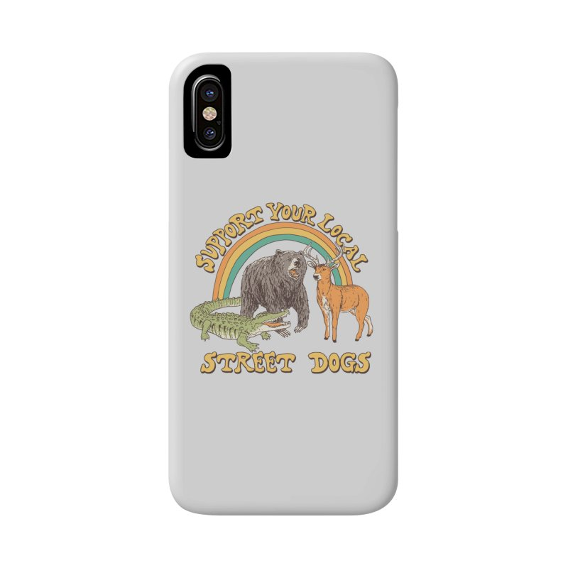 Street Dogs Accessories Phone Case by Hillary White