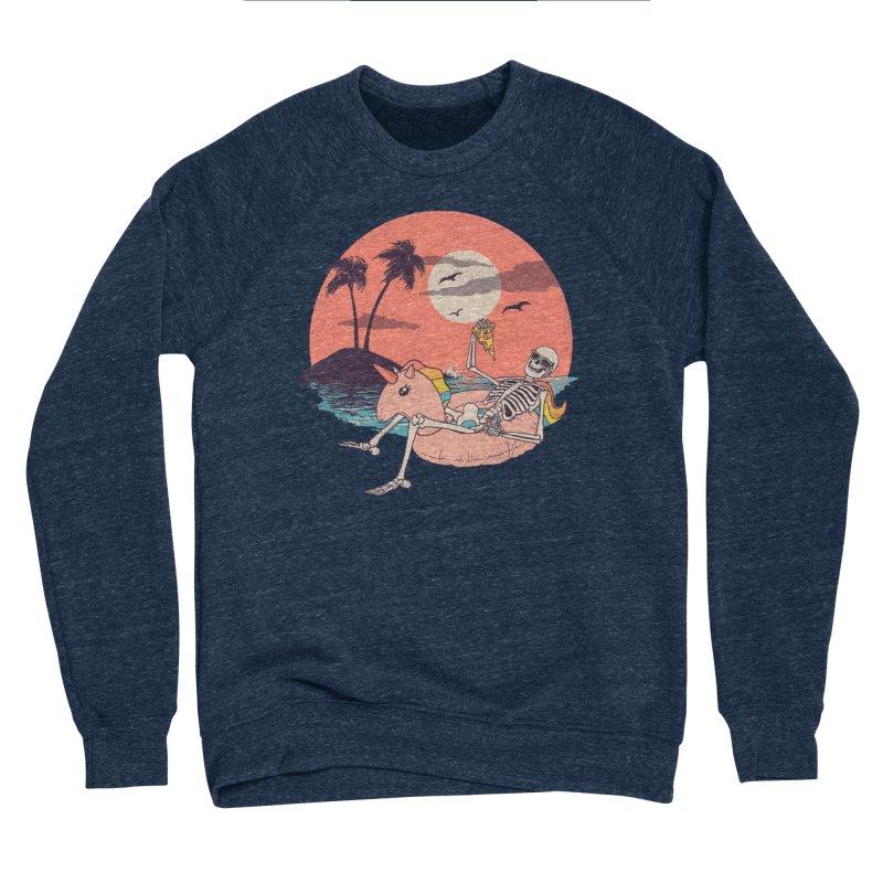 Summer Forever Men's Sponge Fleece Sweatshirt by Hillary White