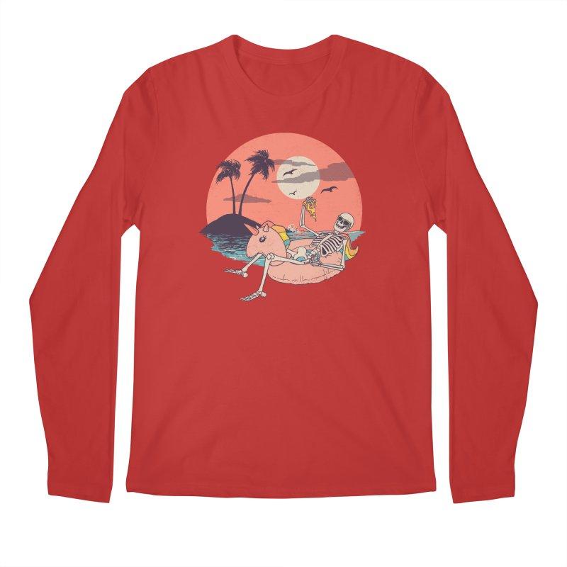 Summer Forever Men's Regular Longsleeve T-Shirt by Hillary White