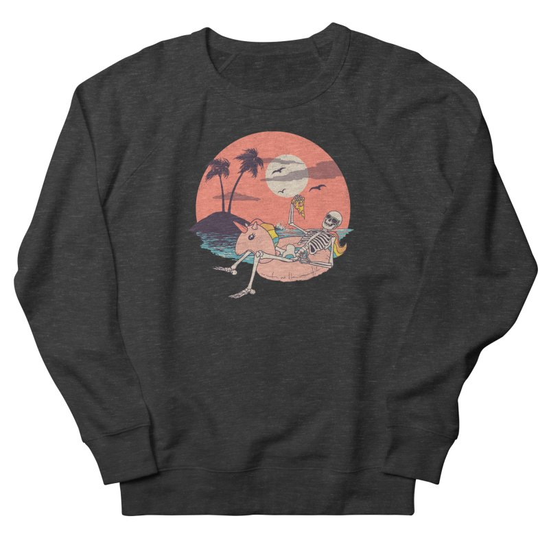 Summer Forever Men's French Terry Sweatshirt by Hillary White