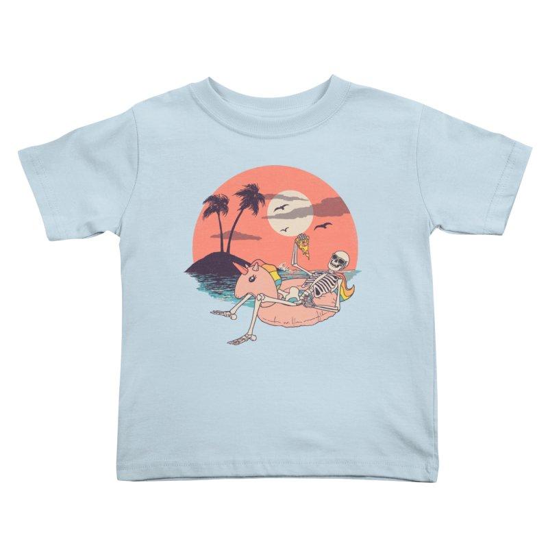 Summer Forever Kids Toddler T-Shirt by Hillary White