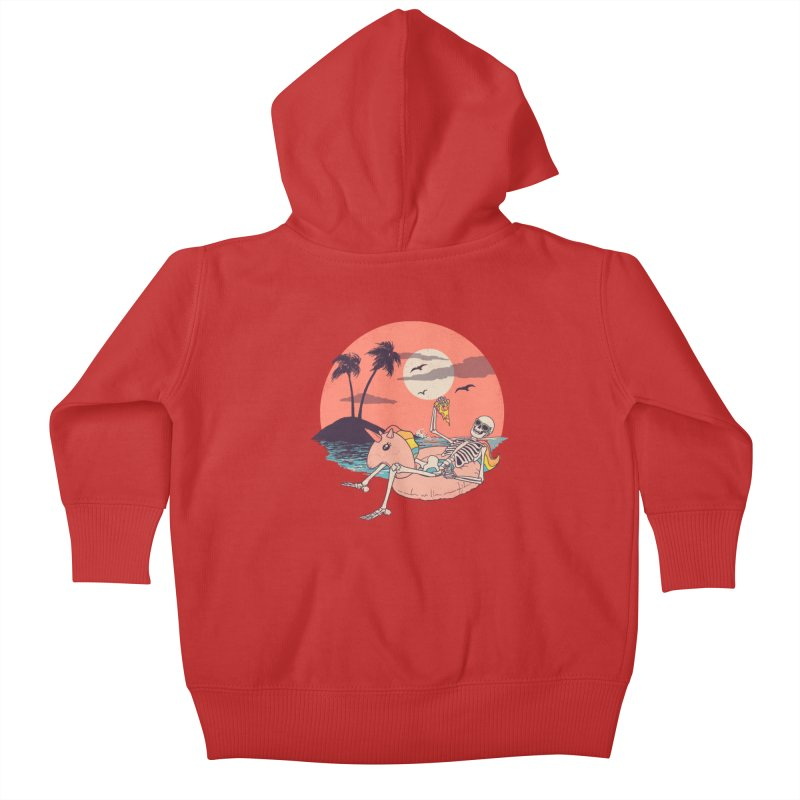 Summer Forever Kids Baby Zip-Up Hoody by Hillary White