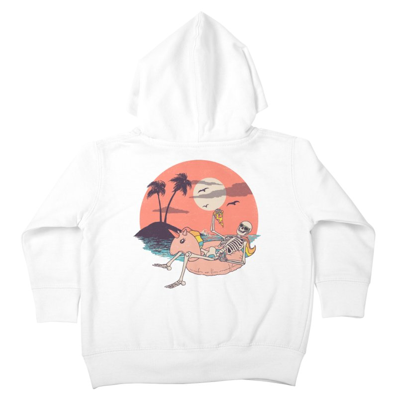 Summer Forever Kids Toddler Zip-Up Hoody by Hillary White