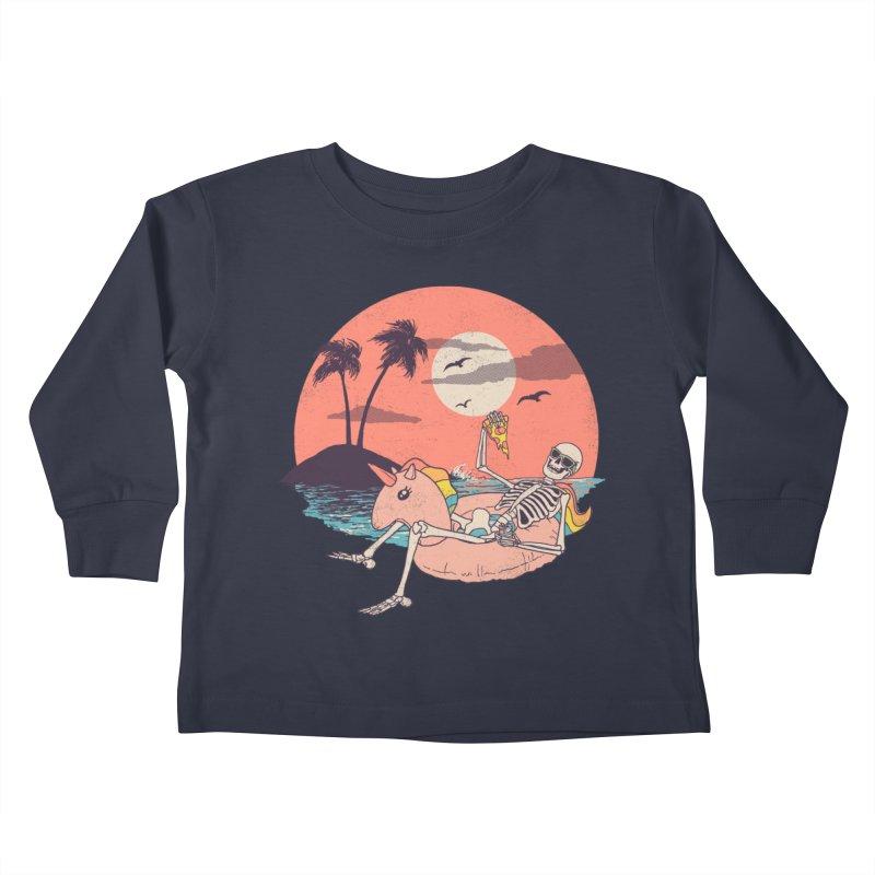 Summer Forever Kids Toddler Longsleeve T-Shirt by Hillary White