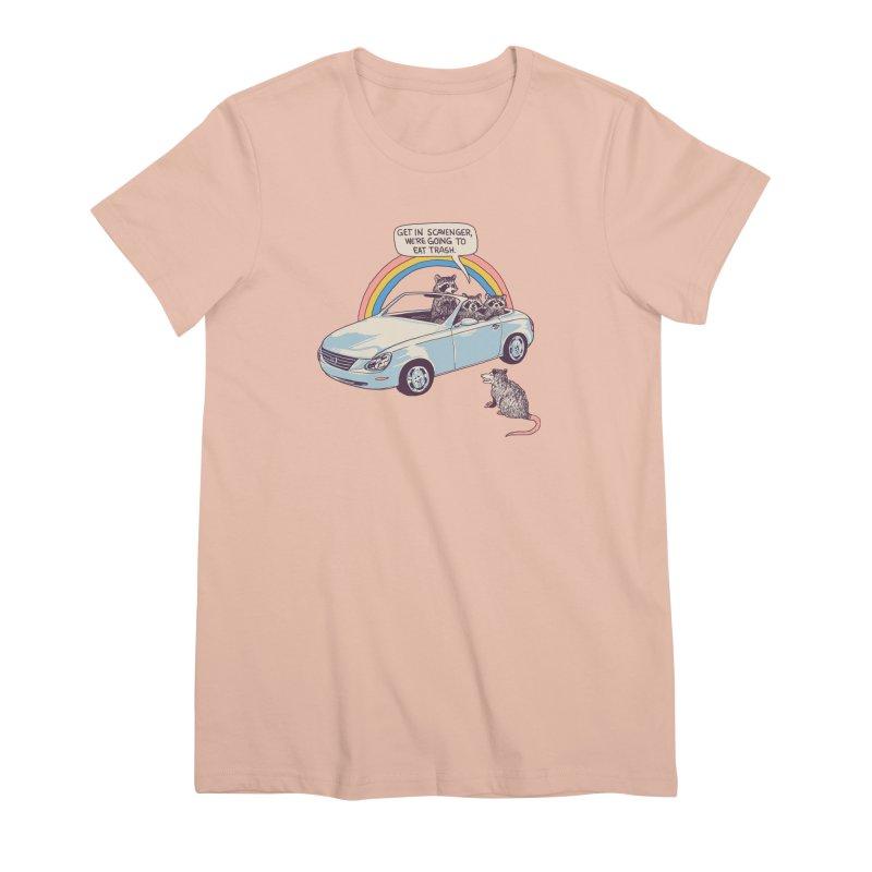 Get In Scavenger Women's Premium T-Shirt by Hillary White