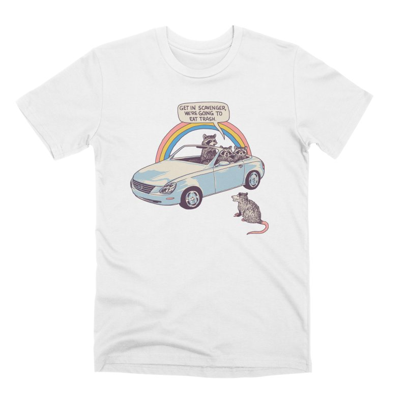 Get In Scavenger Men's Premium T-Shirt by Hillary White