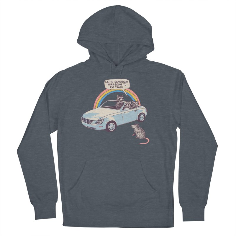 Get In Scavenger Men's French Terry Pullover Hoody by Hillary White