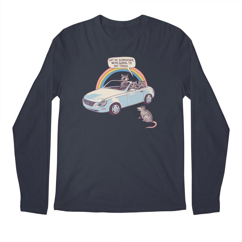 Get In Scavenger Men's Regular Longsleeve T-Shirt by Hillary White