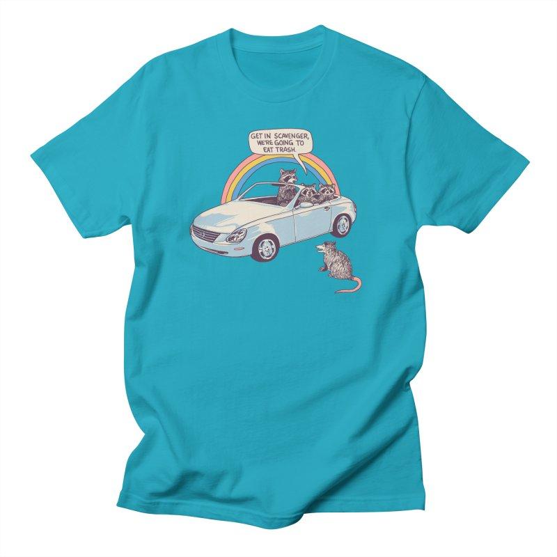 Get In Scavenger Men's Regular T-Shirt by Hillary White