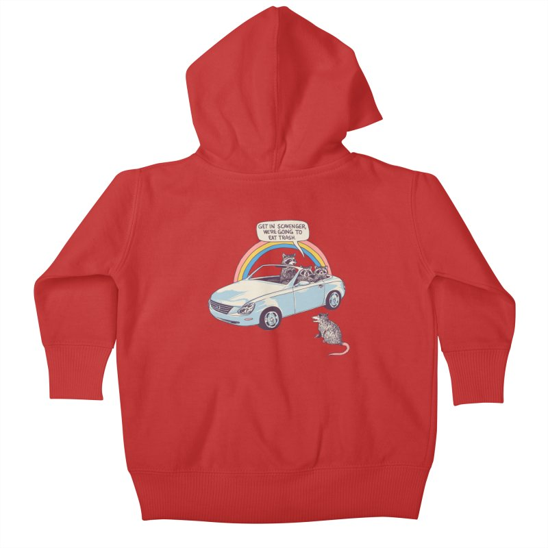 Get In Scavenger Kids Baby Zip-Up Hoody by Hillary White