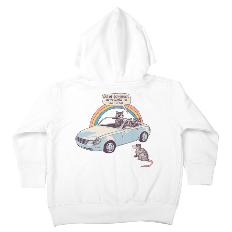 Get In Scavenger Kids Toddler Zip-Up Hoody by Hillary White