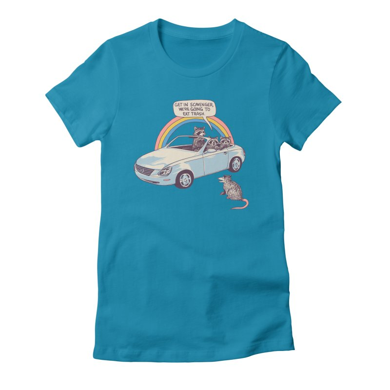 Get In Scavenger Women's Fitted T-Shirt by Hillary White
