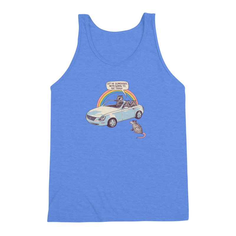 Get In Scavenger Men's Triblend Tank by Hillary White
