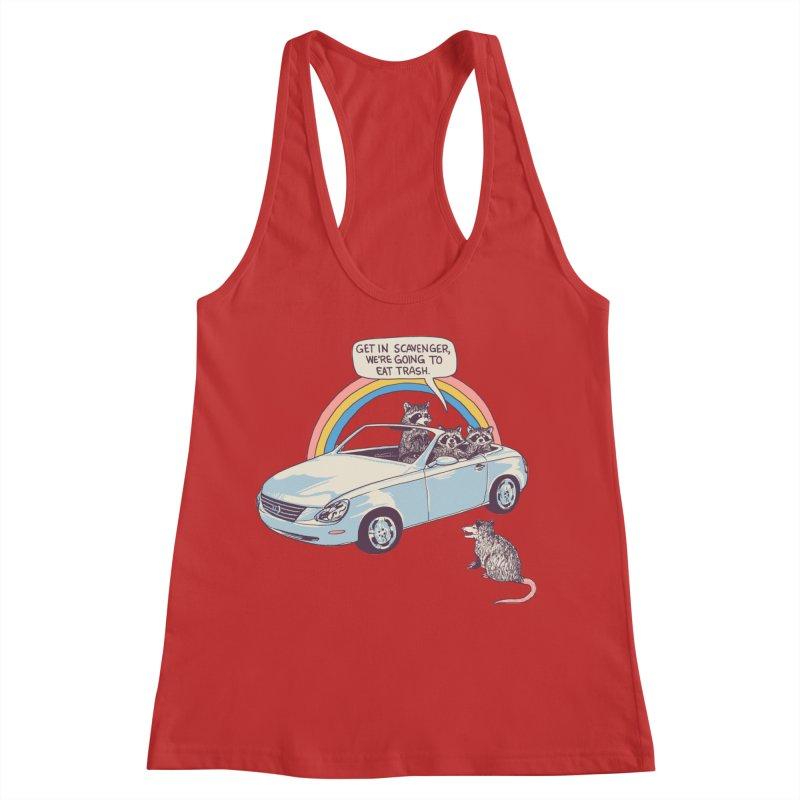 Get In Scavenger Women's Racerback Tank by Hillary White