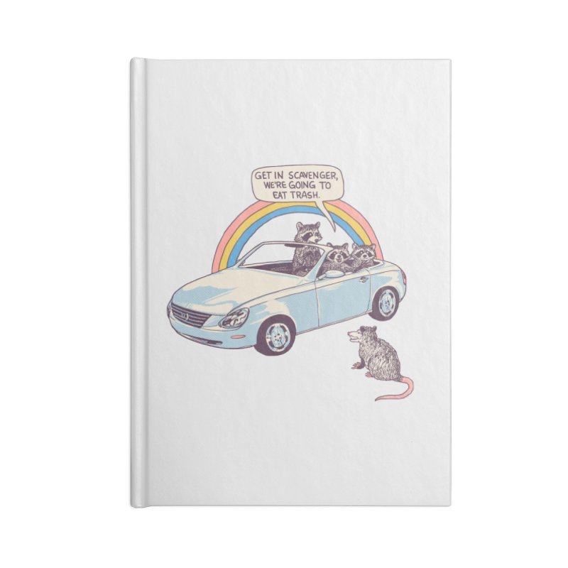 Get In Scavenger Accessories Lined Journal Notebook by Hillary White