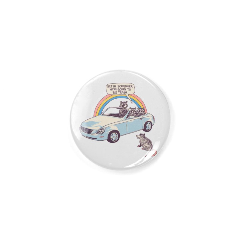Get In Scavenger Accessories Button by Hillary White
