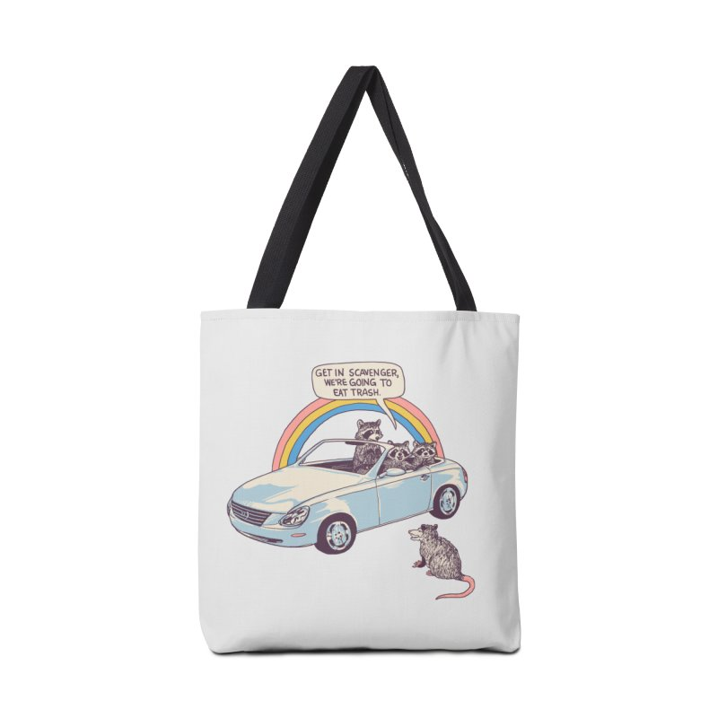 Get In Scavenger Accessories Tote Bag Bag by Hillary White