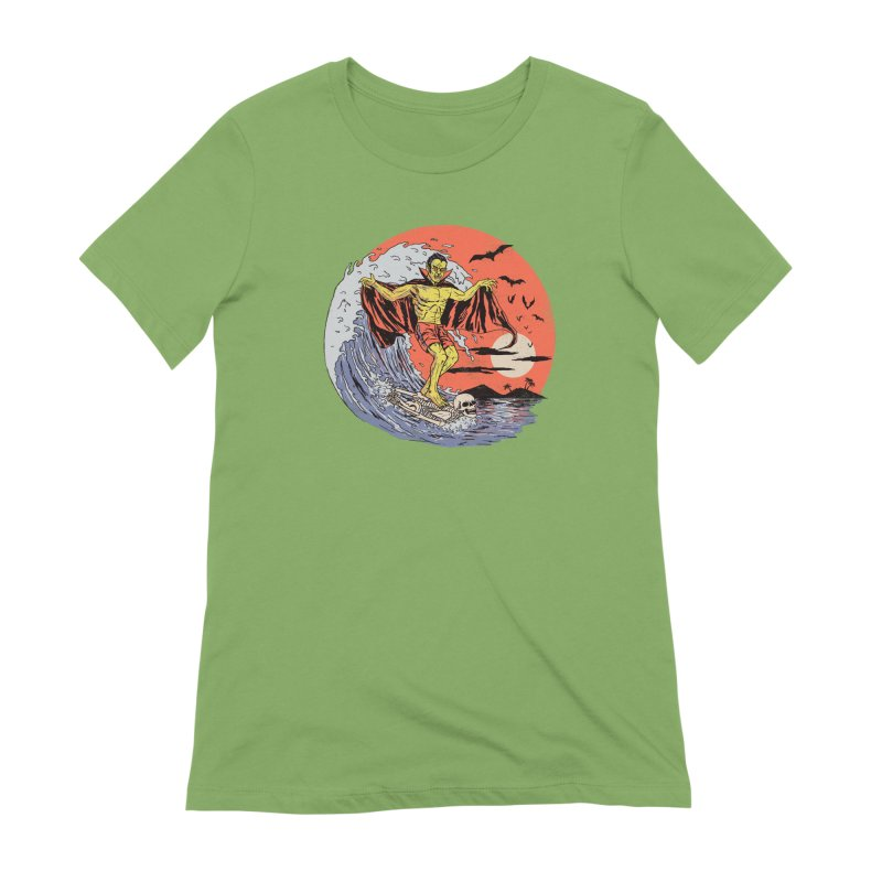 Body Surfer Women's Extra Soft T-Shirt by Hillary White
