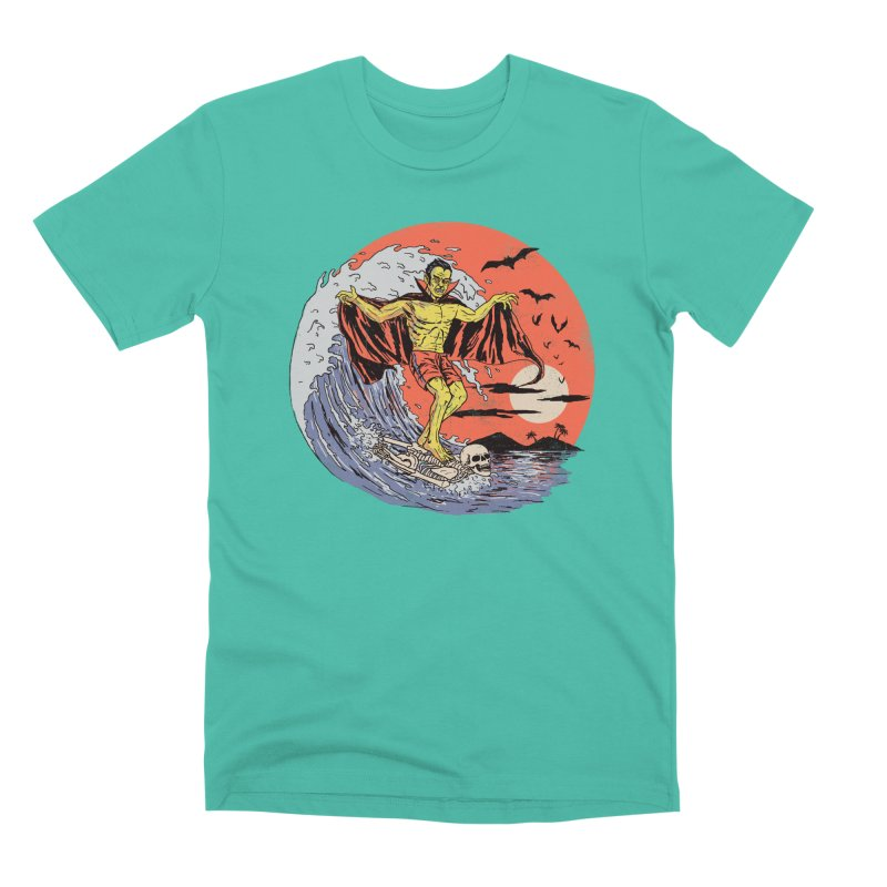 Body Surfer Men's Premium T-Shirt by Hillary White