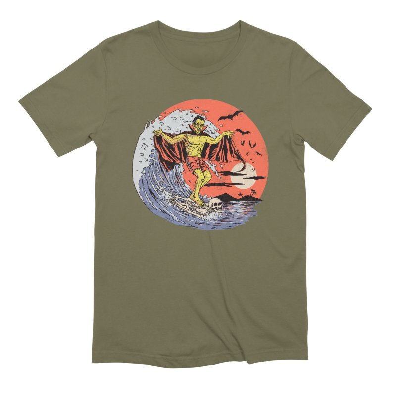 Body Surfer Men's Extra Soft T-Shirt by Hillary White