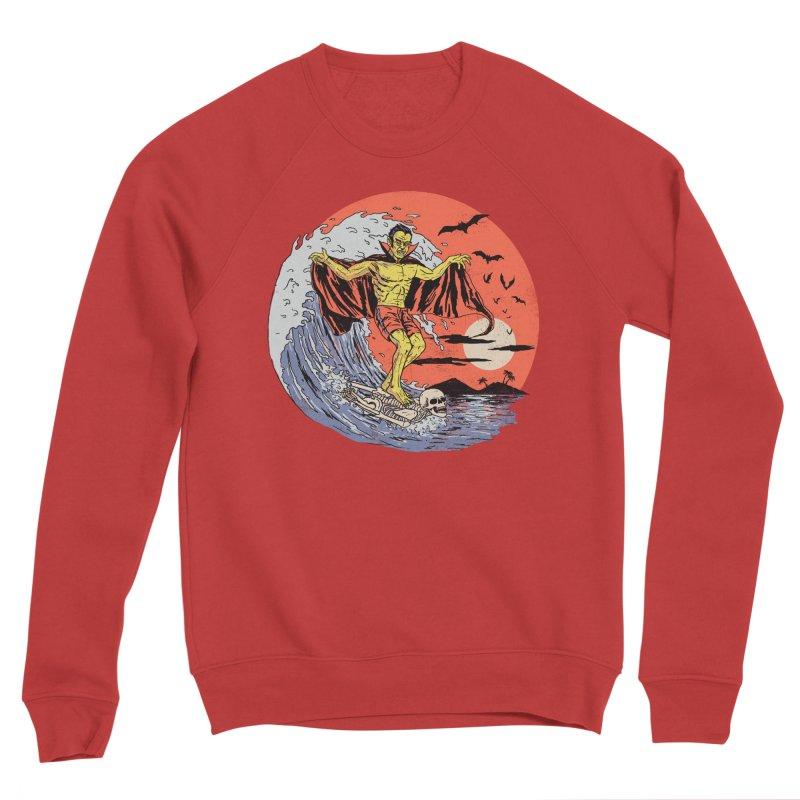 Body Surfer Men's Sponge Fleece Sweatshirt by Hillary White