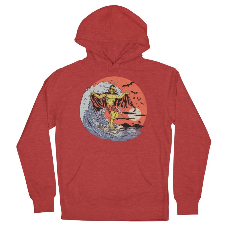 Body Surfer Women's French Terry Pullover Hoody by Hillary White