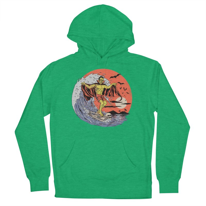 Body Surfer Men's French Terry Pullover Hoody by Hillary White