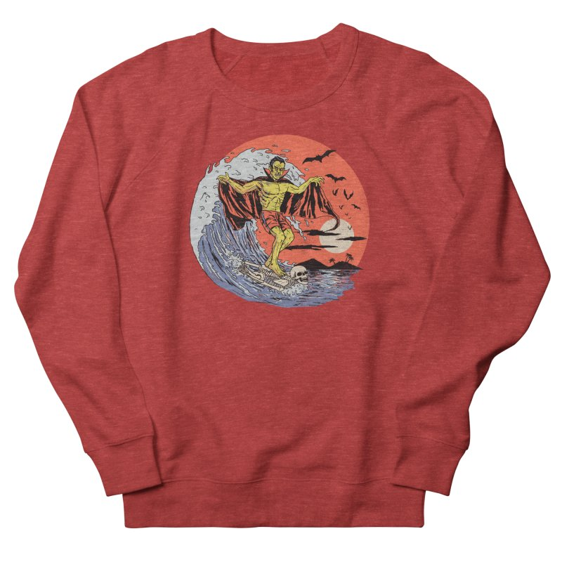 Body Surfer Men's French Terry Sweatshirt by Hillary White