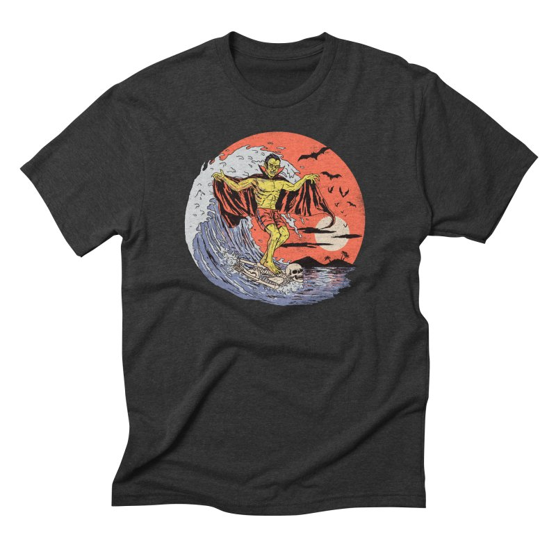 Body Surfer Men's Triblend T-Shirt by Hillary White