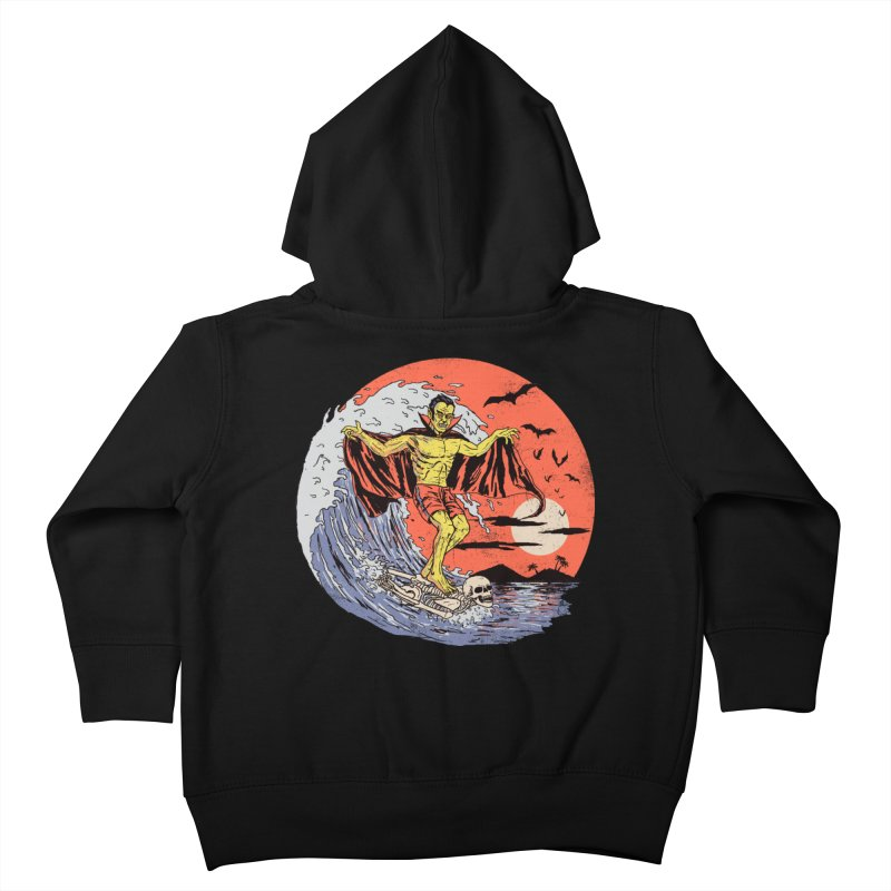 Body Surfer Kids Toddler Zip-Up Hoody by Hillary White