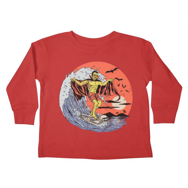 Body Surfer Kids Toddler Longsleeve T-Shirt by Hillary White