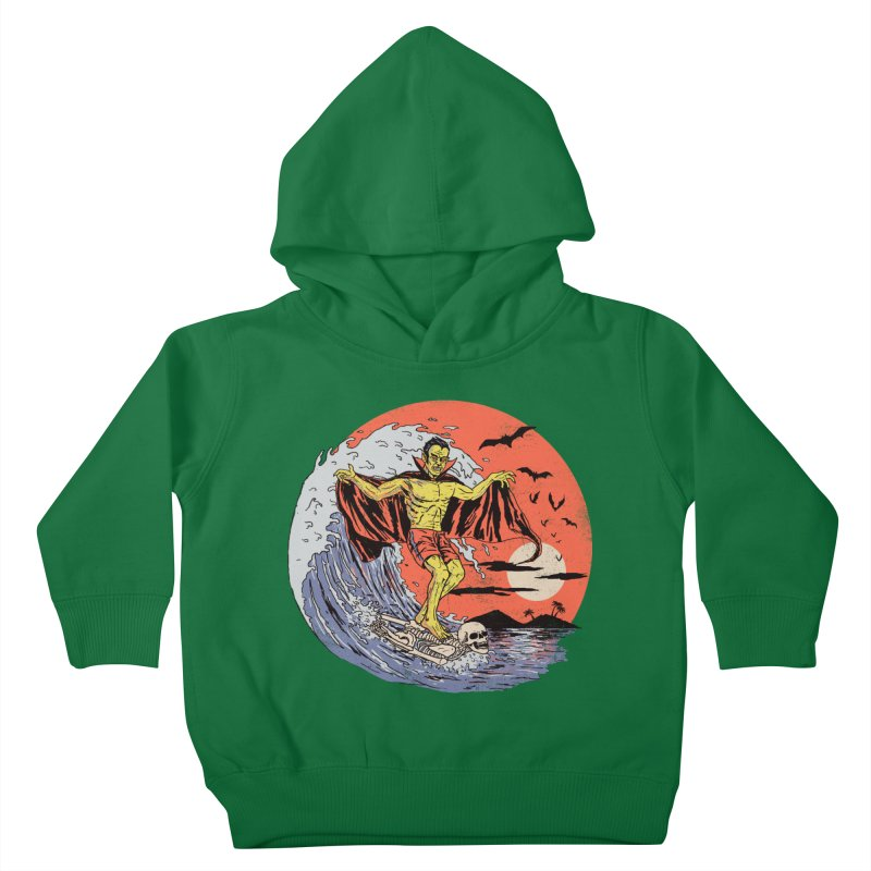 Body Surfer Kids Toddler Pullover Hoody by Hillary White