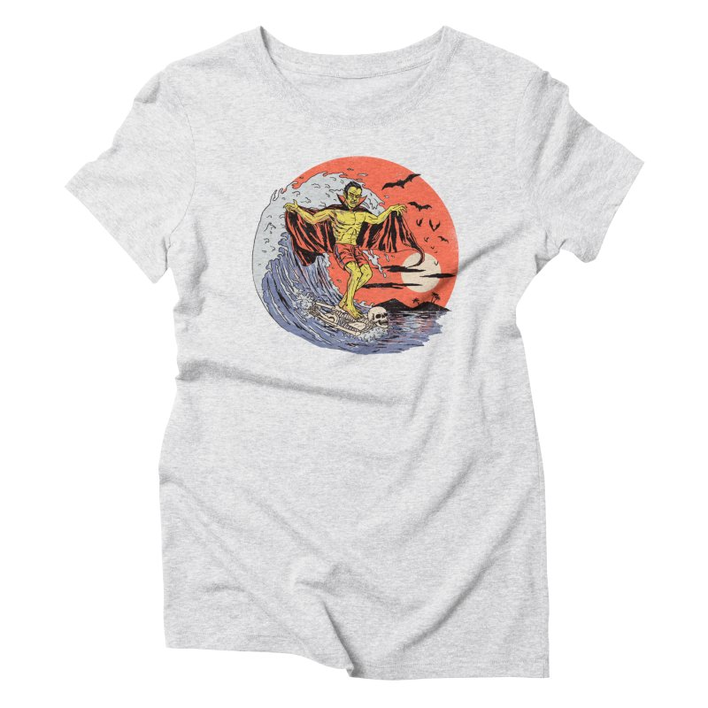 Body Surfer Women's Triblend T-Shirt by Hillary White