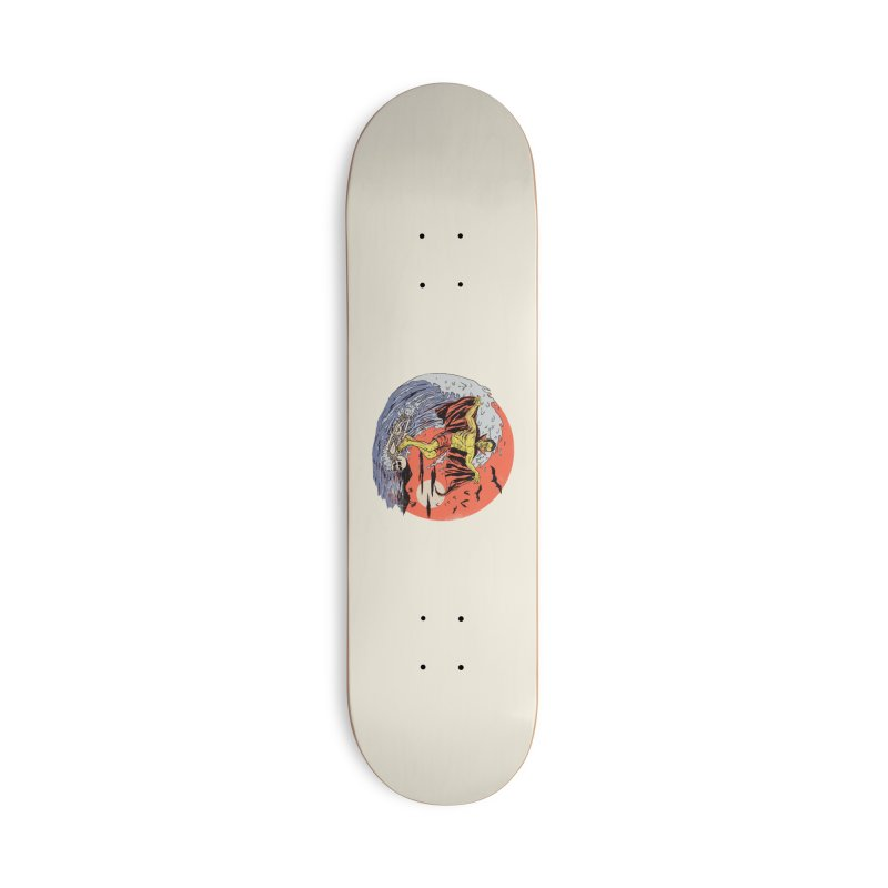 Body Surfer Accessories Deck Only Skateboard by Hillary White