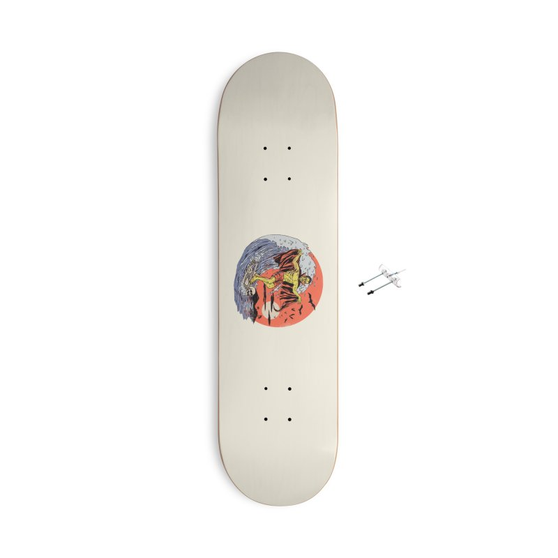 Body Surfer Accessories With Hanging Hardware Skateboard by Hillary White
