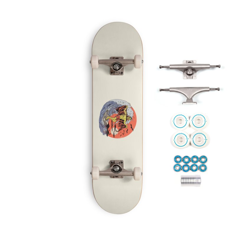 Body Surfer Accessories Complete - Basic Skateboard by Hillary White