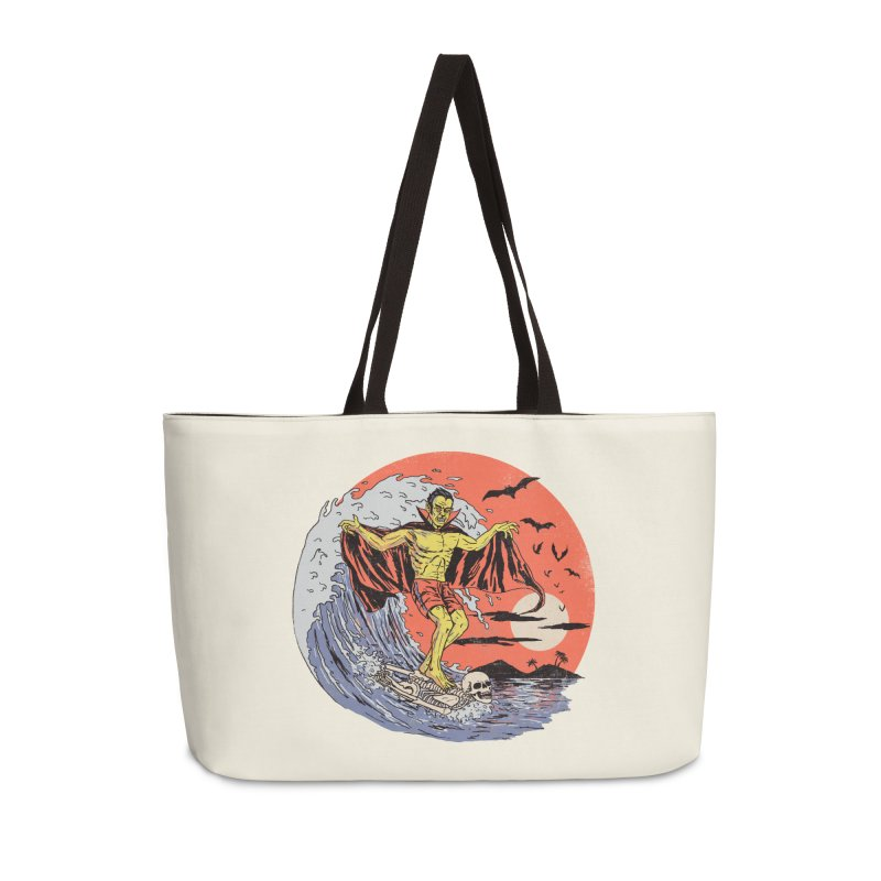 Body Surfer Accessories Weekender Bag Bag by Hillary White