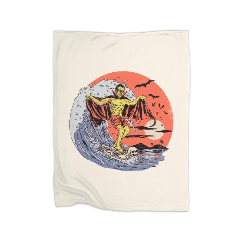 Body Surfer Home Fleece Blanket Blanket by Hillary White