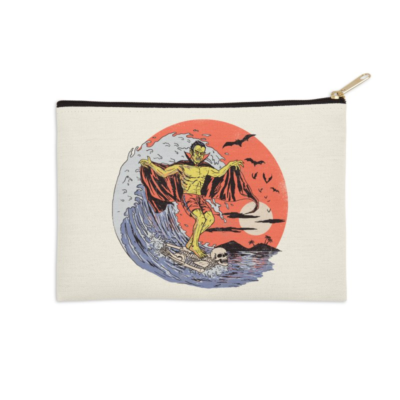 Body Surfer Accessories Zip Pouch by Hillary White