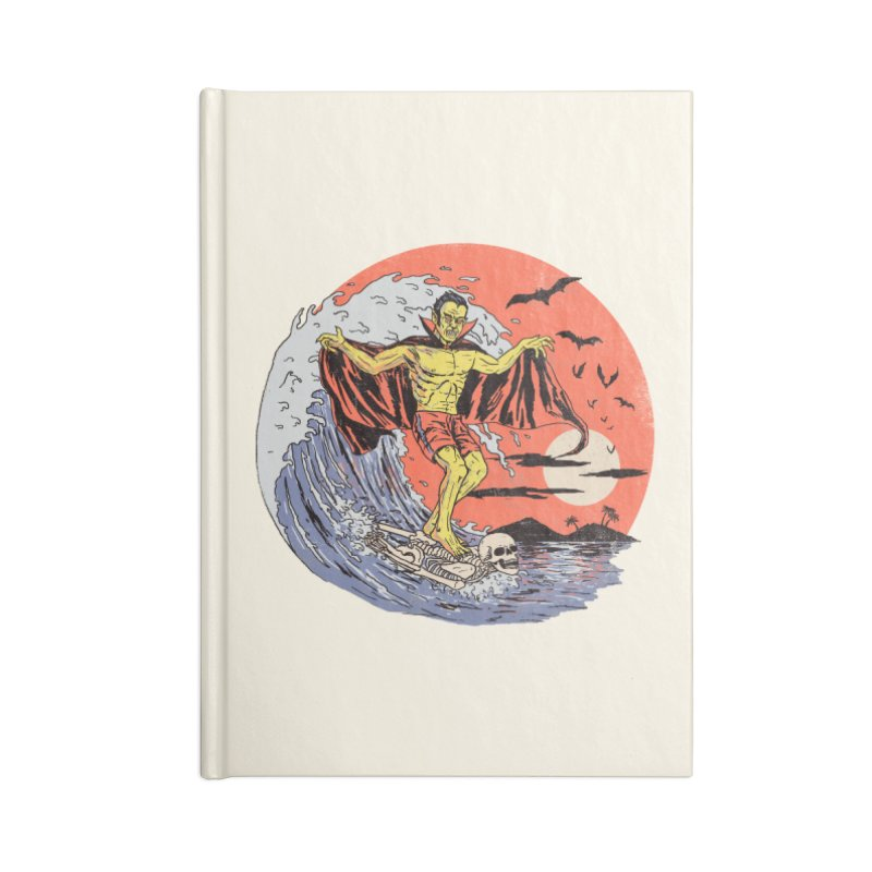 Body Surfer Accessories Lined Journal Notebook by Hillary White